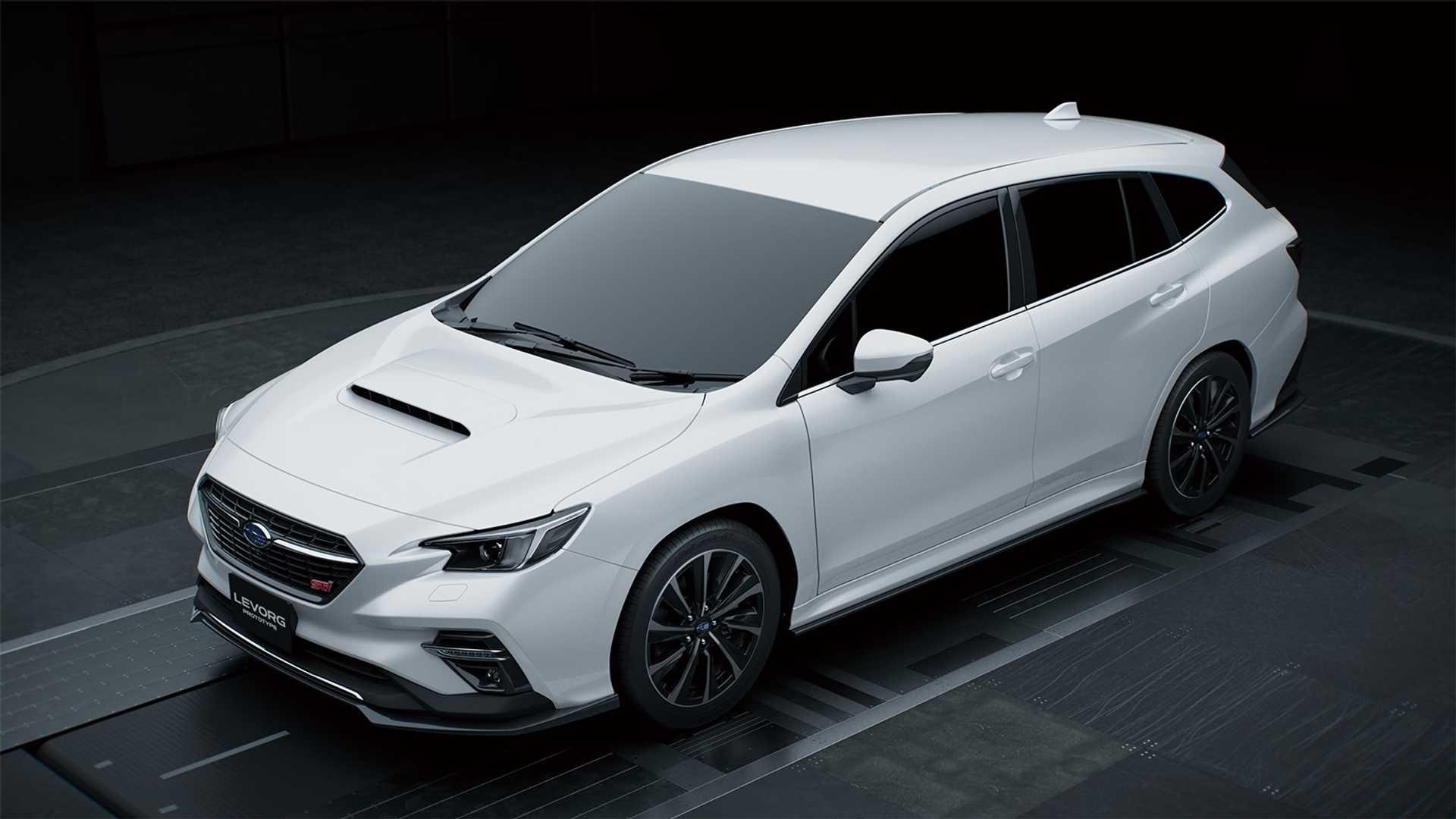 Subaru Levorg STI Sport 2020 blanco