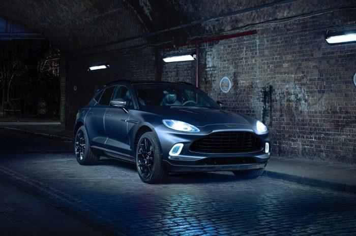 Aston Martin muestra la versión Q de DBX