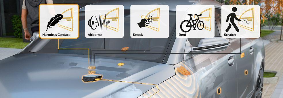 Sensores anti choque de Continental