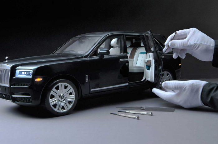 Rolls-Royce ofrece un modelo Cullinan a escala 1:8 a precio de un auto