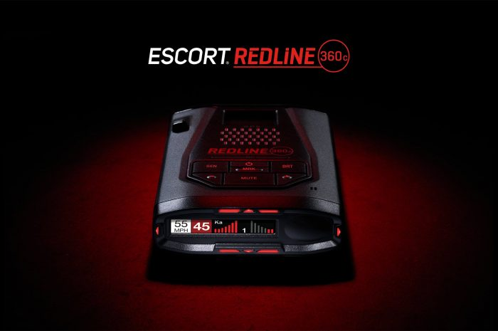 Escort Redline 360c detector de radar legal en los EU