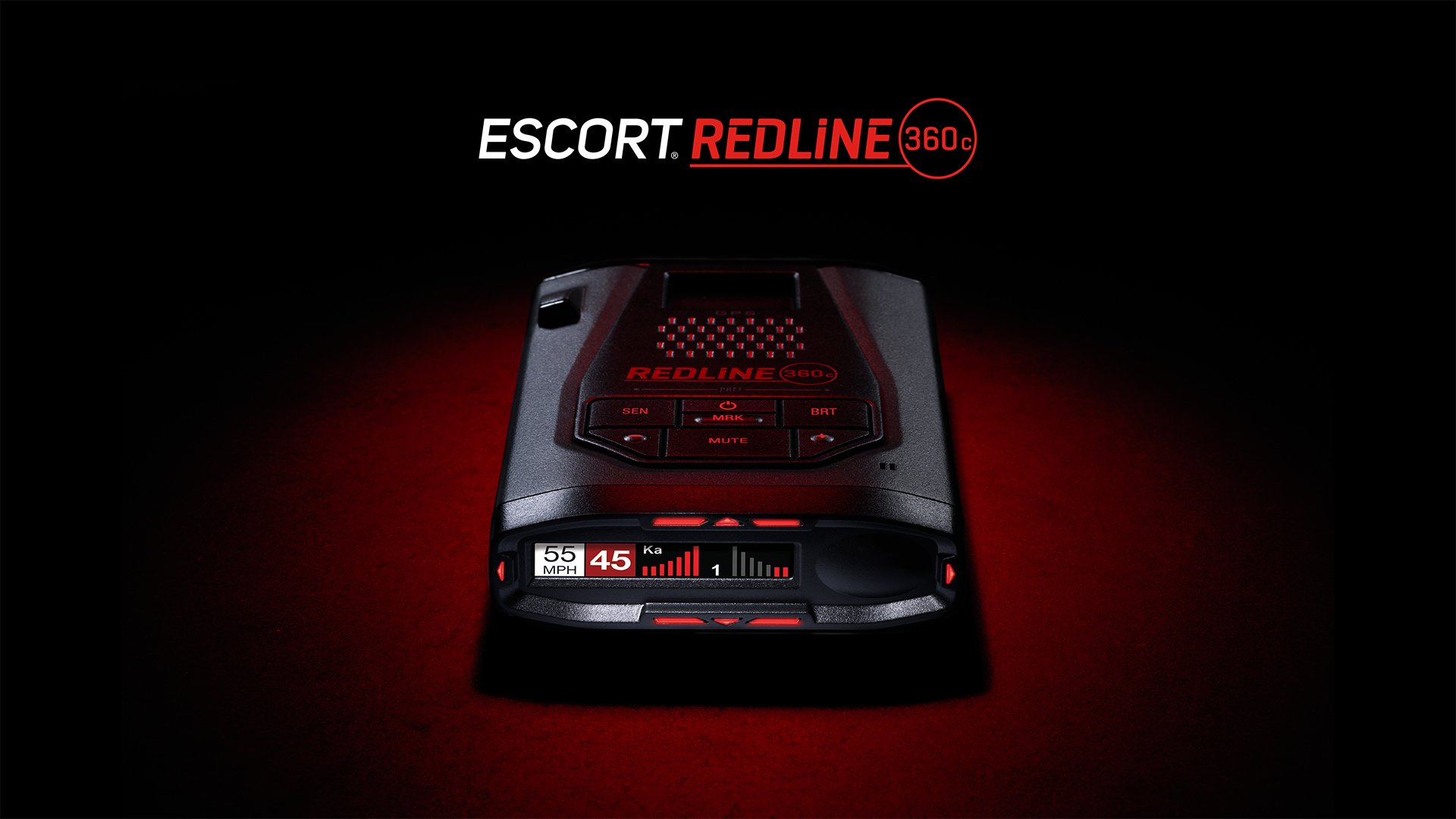Escort Redline 360c detector de radar legal en los EU