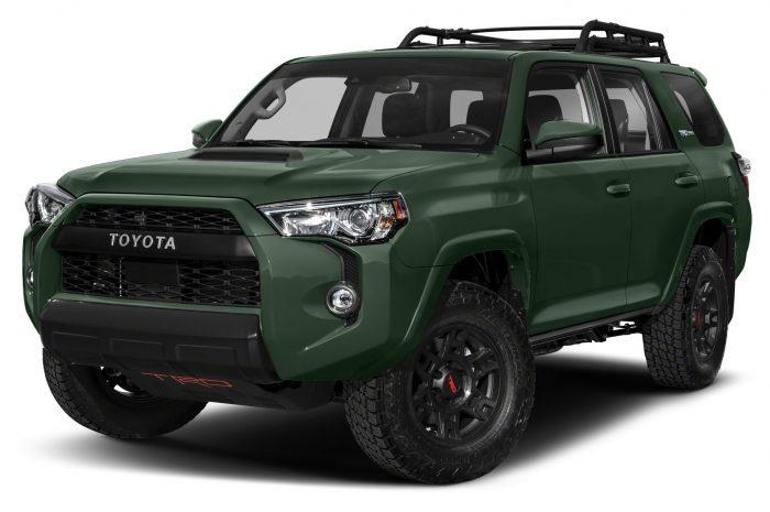 Toyota 4Runner TRD Pro 2021 obtiene nuevos colores, ruedas y amortiguadores Fox actualizados