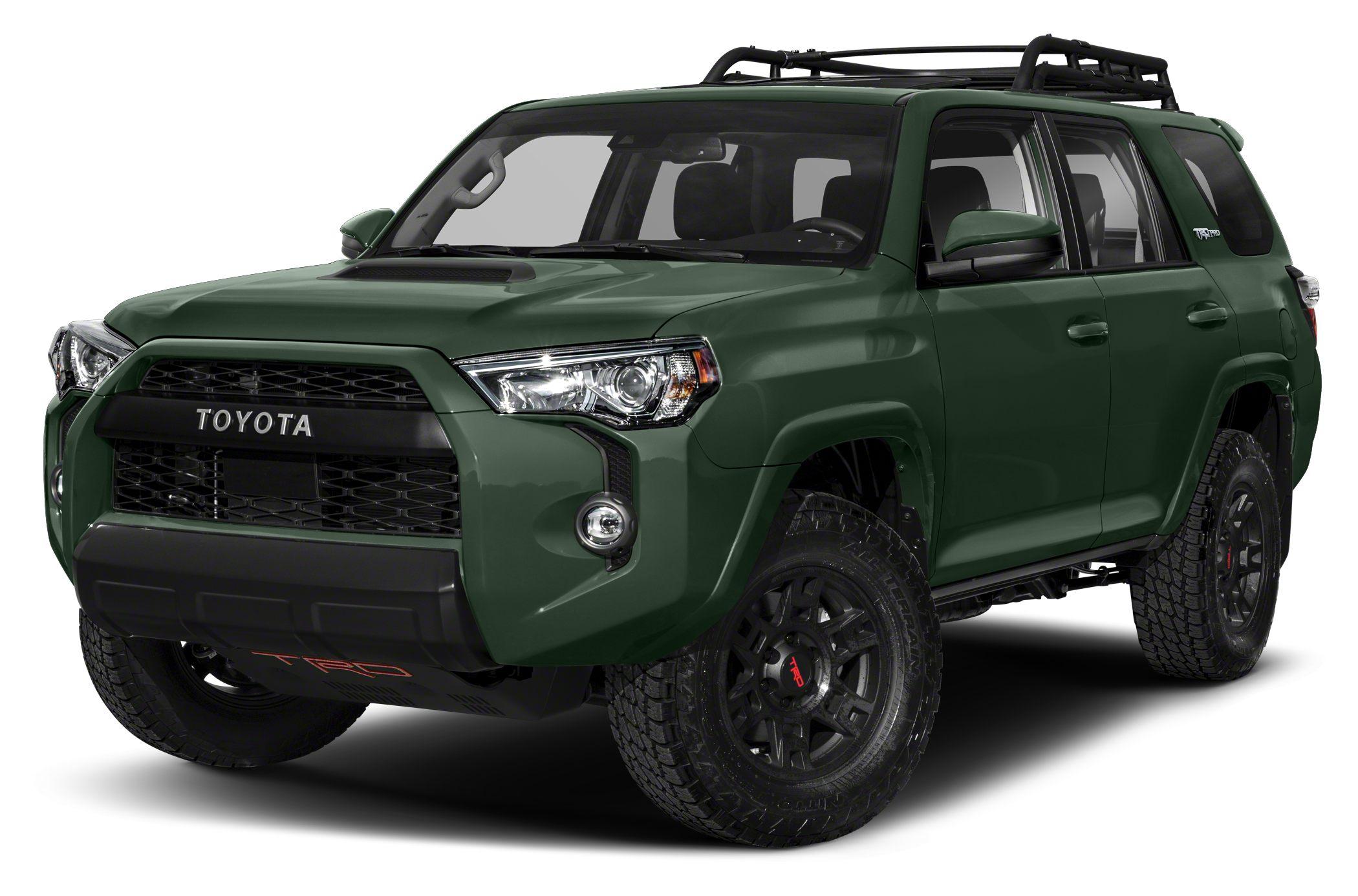 Toyota 4Runner TRD Pro 2021 verde olivo